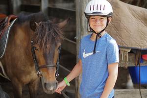horseback riding lessons equestrian camp